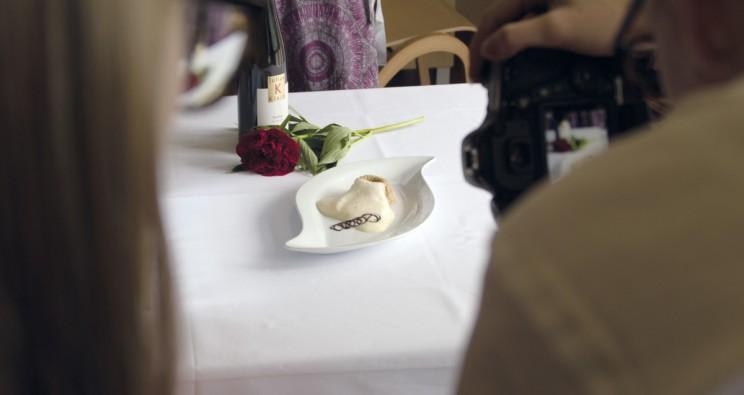 Fotoshooting für ein Kochbuch mit Rezepten aus der HLW Krieglach