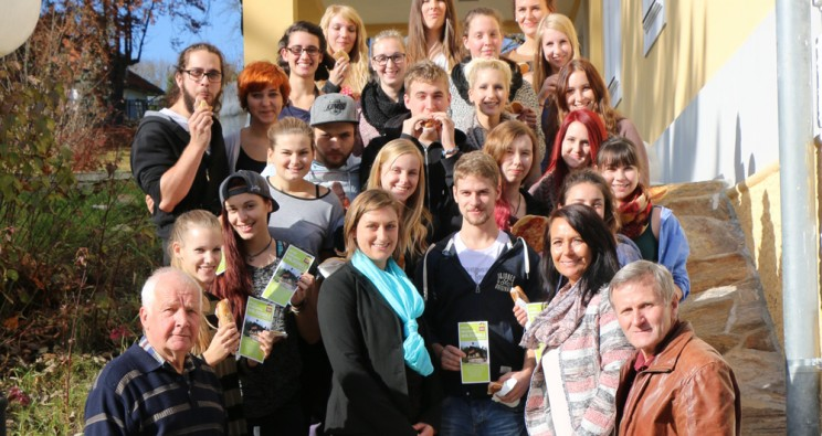 Folder für die Waldschule am Alpl