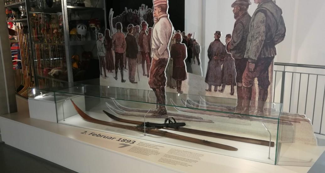 Feuertaufe im Wintersportmuseum
