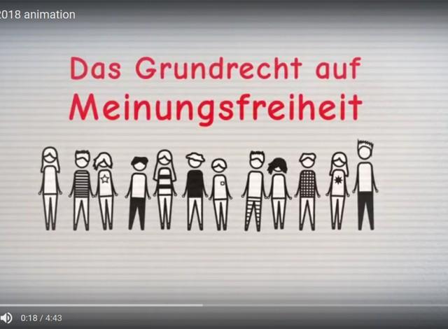 Animation: Anonymität im Netz
