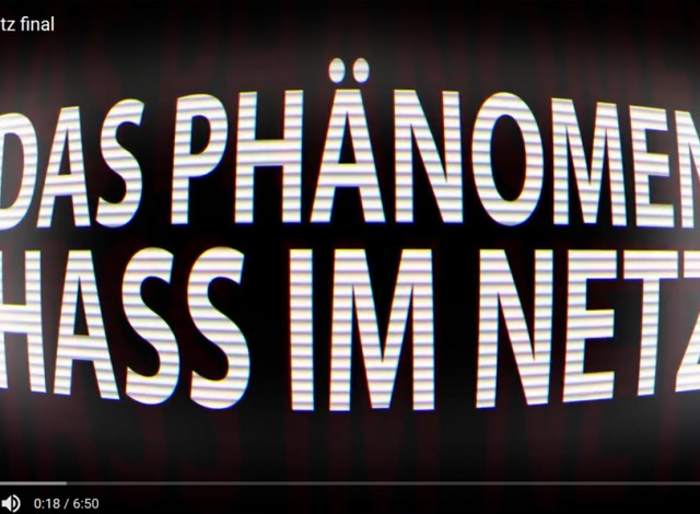 Animation: Hass im Netz